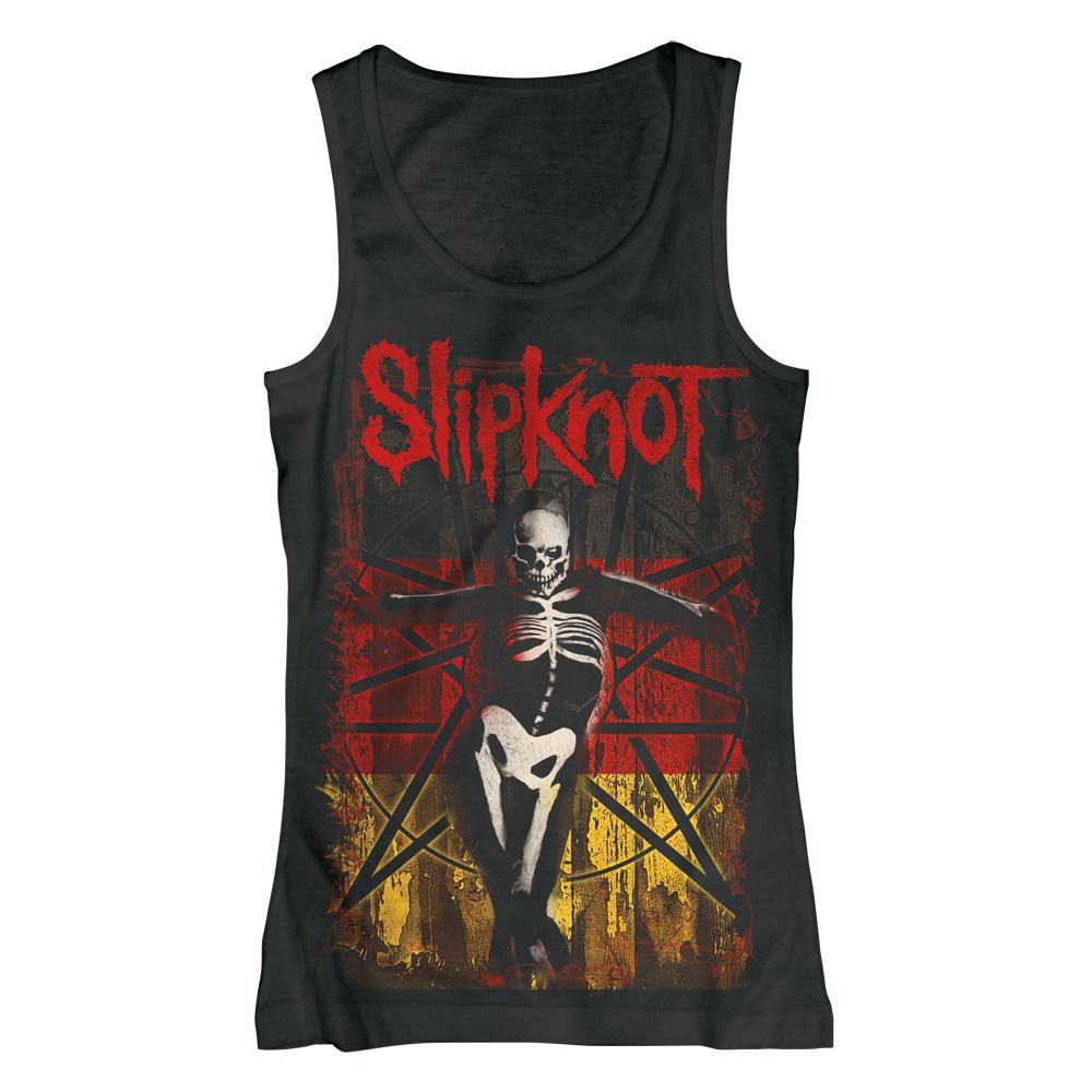 German Gothic von Slipknot - Girlie Top jetzt im Slipknot - Shop Shop