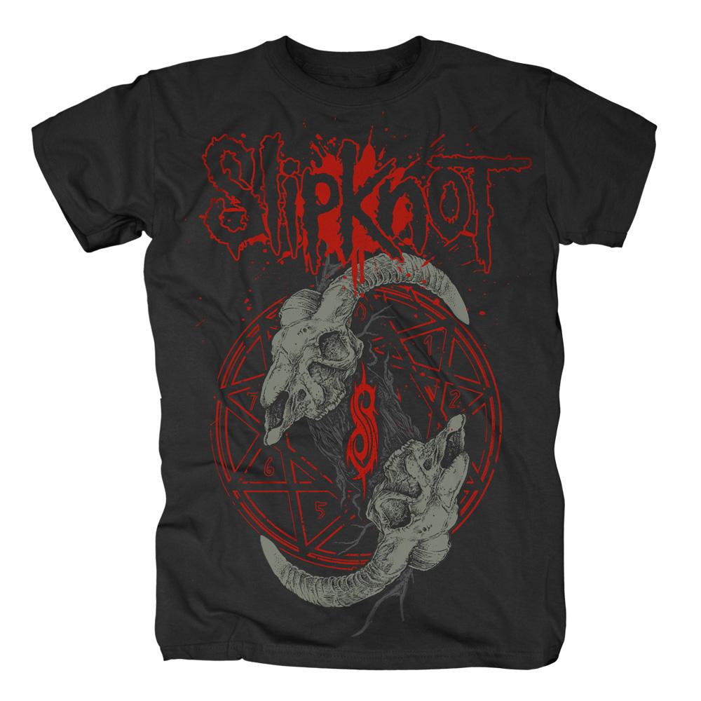Horned Logo von Slipknot - T-Shirt jetzt im Slipknot - Shop Shop