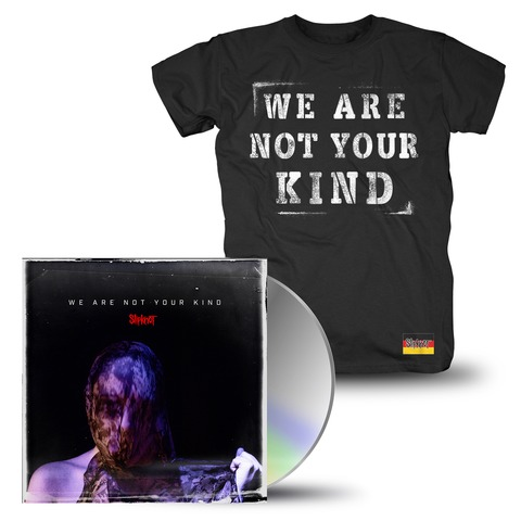 √We Are Not Your Kind (CD + T-Shirt Bundle) von Slipknot - CD Bundle jetzt im Slipknot - Shop Shop