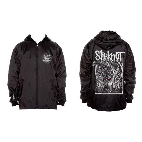 √Goat Skull von Slipknot - Coach Jacket jetzt im Slipknot - Shop Shop