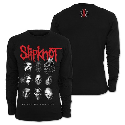 √Faces von Slipknot - Long-sleeve jetzt im Slipknot - Shop Shop