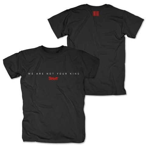 √WANYK Text von Slipknot - T-Shirt jetzt im Slipknot - Shop Shop