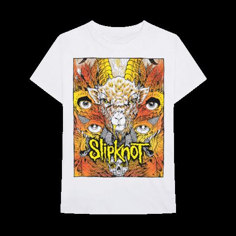 Gold Foil Goat von Slipknot - T-Shirt jetzt im Slipknot - Shop Shop
