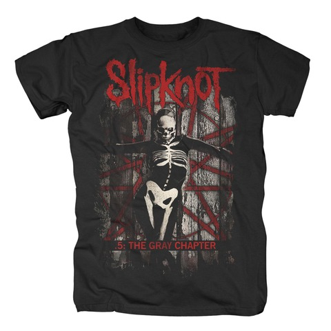 The Gray Chapter Album Cover von Slipknot - T-Shirt jetzt im Slipknot - Shop Shop