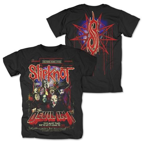 VHS Cover von Slipknot - T-Shirt jetzt im Slipknot - Shop Shop