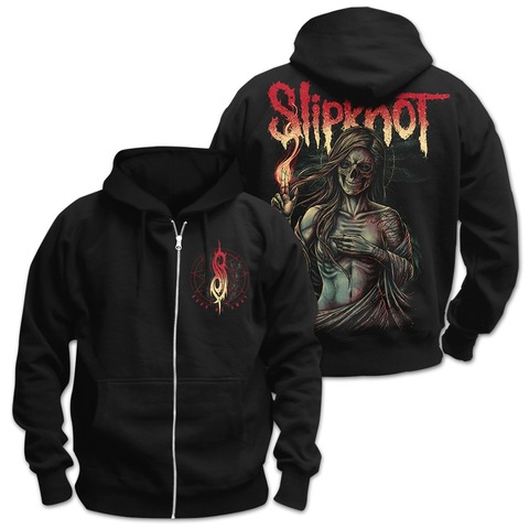 √Burn Me Away von Slipknot - Hooded jacket jetzt im Slipknot - Shop Shop