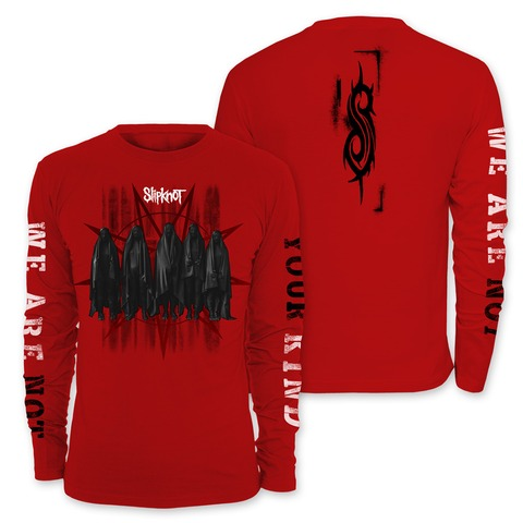 √Shrouded Group von Slipknot - Long-sleeve jetzt im Slipknot - Shop Shop