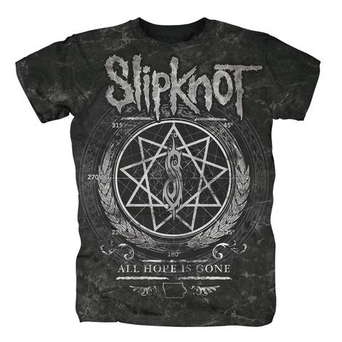 √Blurry Allover von Slipknot - T-shirt jetzt im Slipknot - Shop Shop