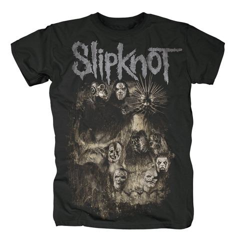 √Skull Group von Slipknot - 100% cotton jetzt im Slipknot - Shop Shop