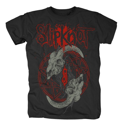 √Horned Logo von Slipknot - T-shirt jetzt im Slipknot - Shop Shop