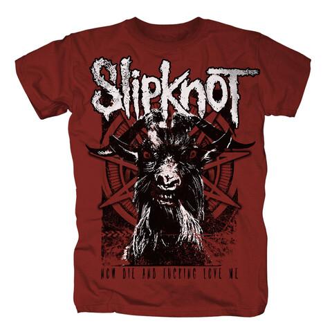 √Goat Thresh von Slipknot - T-shirt jetzt im Slipknot - Shop Shop