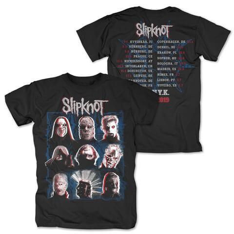 √Scanner Dateback von Slipknot - T-Shirt jetzt im Slipknot - Shop Shop